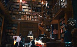 Gatsby's library