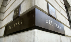 reuters name plate