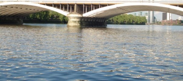 And so to the bridge that would be a swan - Grosvenor Bridge.