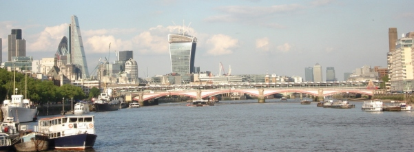 Blackfriars Bridge and the biz.